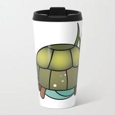 Turtle in a Circle Metal Travel Mug