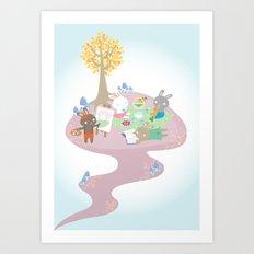 picnic day Art Print