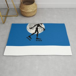 Friendly Zombie On The Go - Roller-skates Rug