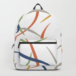 Matisse Ribbon - White Backpack