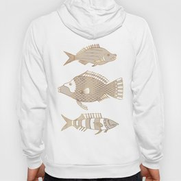 Fantastical Fish 2 - Natural Hoody