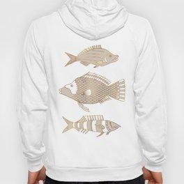 Fantastical Fish 2 - Natural Hoody