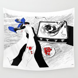 Cherry Bomb Wall Tapestry