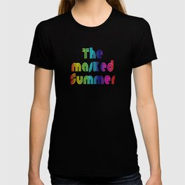 The masked Summer - Typo - 500 Days - of the Pandemic - #2 T-shirt