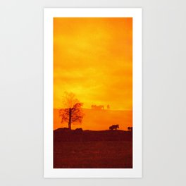 In those first few hours after the dawn Art Print