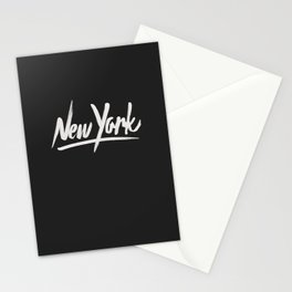 NYC is over the top Stationery Cards