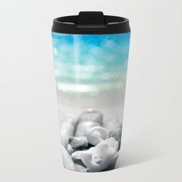 shells in hand Metal Travel Mug