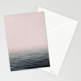 Misty sea Stationery Cards