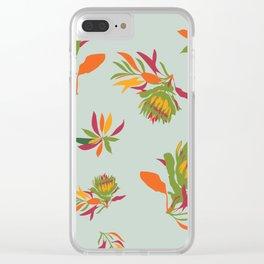 Sugarbush Clear iPhone Case