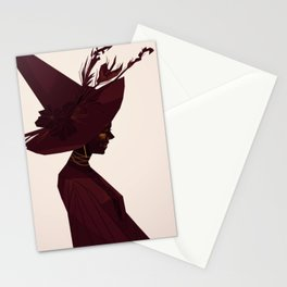 Witch's Hat Stationery Cards