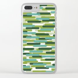Fast Capsules 8 Clear iPhone Case