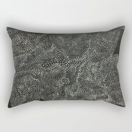 An Ode To You ... When Particles Align Rectangular Pillow