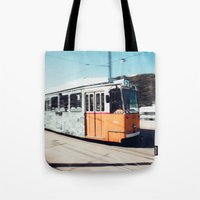 budapest Tote Bags featuring Budapest by Johnny Frazer