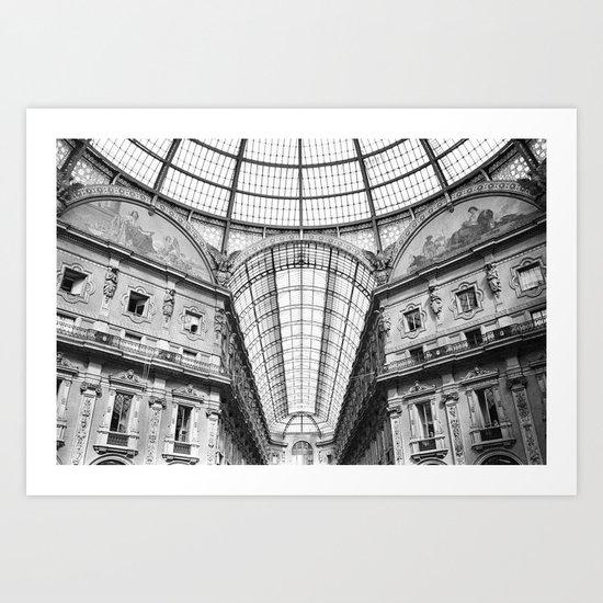 Galleria Vittorio Emanuele II Art Print