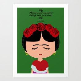 Camila Frida Art Print