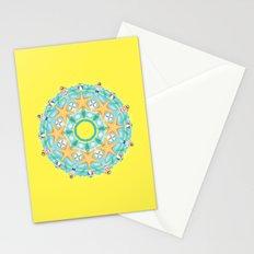 summer heat mandala Stationery Cards