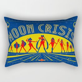 Moon Crisis Rectangular Pillow