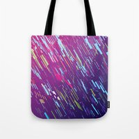 aurora Tote Bags featuring Aurora by ThoughtCloud