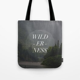 WILDERNESS — Tote Bag