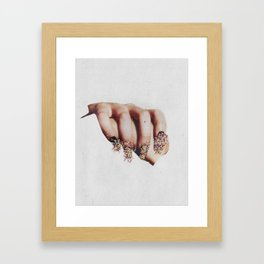 One and one  Framed Art Print