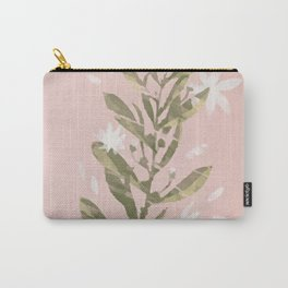 Flower and pink Carry-All Pouch
