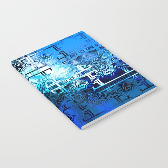 1001 Lights Pattern (azure-lapis-sky) Notebook