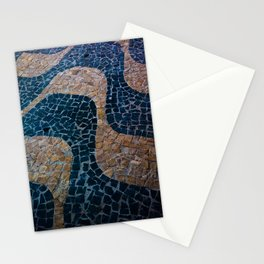 Waves in the ground Stationery Cards