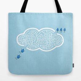 Cloud Maze Tote Bag
