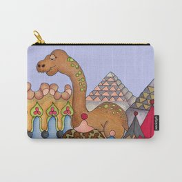 Dinosaur in Egypt Carry-All Pouch