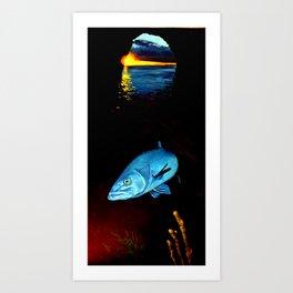 'Hapuku' Art Print
