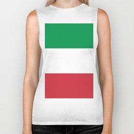 Flag of Italy Biker Tank