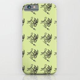 Ancient Imp Mythical Mythology Color Pattern iPhone Case