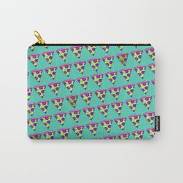 GOOPY GREEN PIZZA Carry-All Pouch