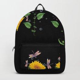 Minnesota Blaine Sunflower hope love Gifts For Men Women Backpack