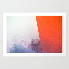 WET COLORS 5 Art Print