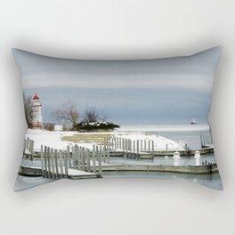 Cheboygan Marina Rectangular Pillow