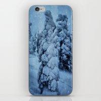 finland iPhone & iPod Skins featuring Winter in Lapland, Finland by Guna Andersone & Mario Raats - G&M Studi