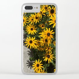 Susans and Cement Clear iPhone Case
