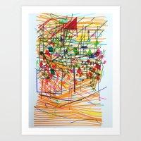 Vibrant Recharge Art Print