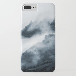 Foggy Mountains iPhone Case