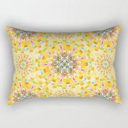 Sunshine Mandala Rectangular Pillow