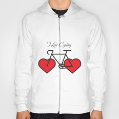I love cycling Hoody