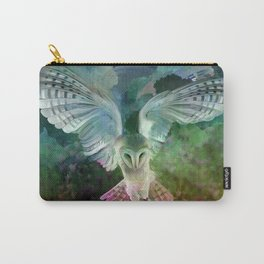 """Owl flight and spring night"" Carry-All Pouch"