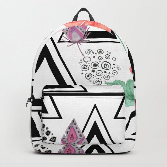 Boho background Backpack