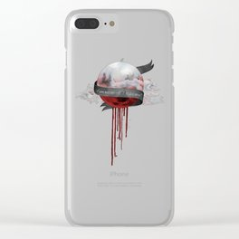 UNDER THE BLOOD MOON Clear iPhone Case