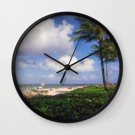 Jupiter Inlet View Wall Clock