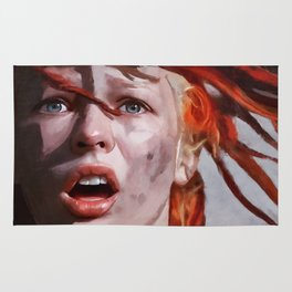 Leeloo Played By Milla Jovovich - The Fifth Element Rug