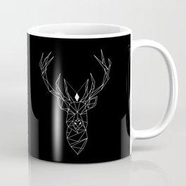 Deer Black Coffee Mug