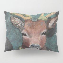 Finch Deer and Snake Pillow Sham