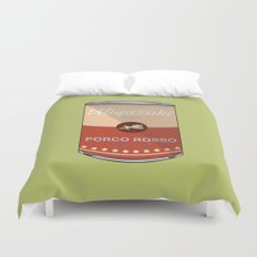 Porco Rosso - Miyazaki - Special Soup Series  Duvet Cover